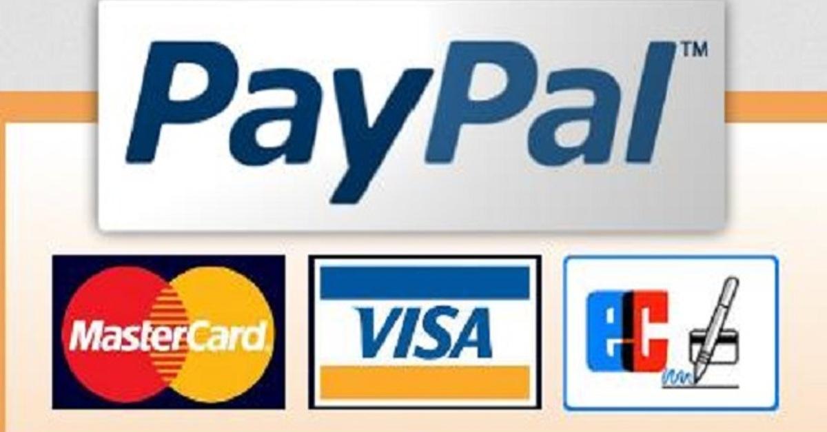 Bezahlen Sie Sicher und bequem mit Paypal